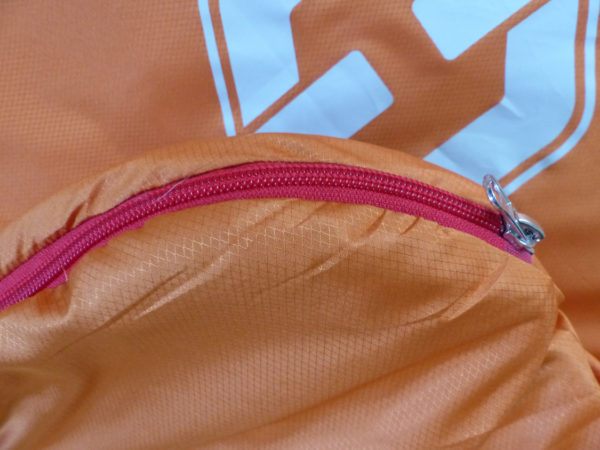 T-Series Rounded Corners 2way Zipper