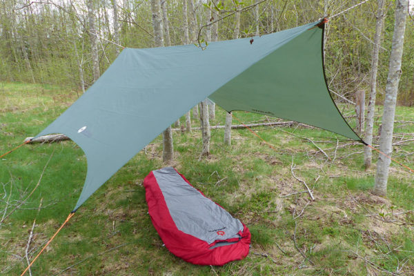 Wingman Tarp Setup With Ridgeline